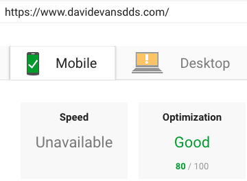 Page Speed Google Page Speed Insights After Results